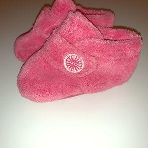 New Ugg Bixbee Pink Baby Infant Shoes 2/3